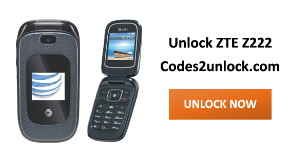 How to Carrier Unlock your ZTE Z222 by unlock code so you