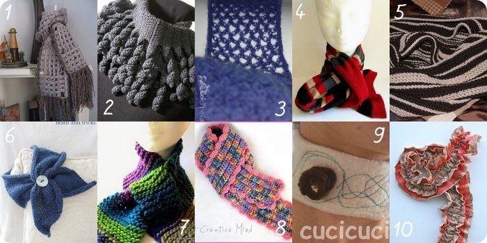 miglior servizio b6f7d a6528 10 progetti per fare sciarpe belle e fai da te, Raccolta di ...