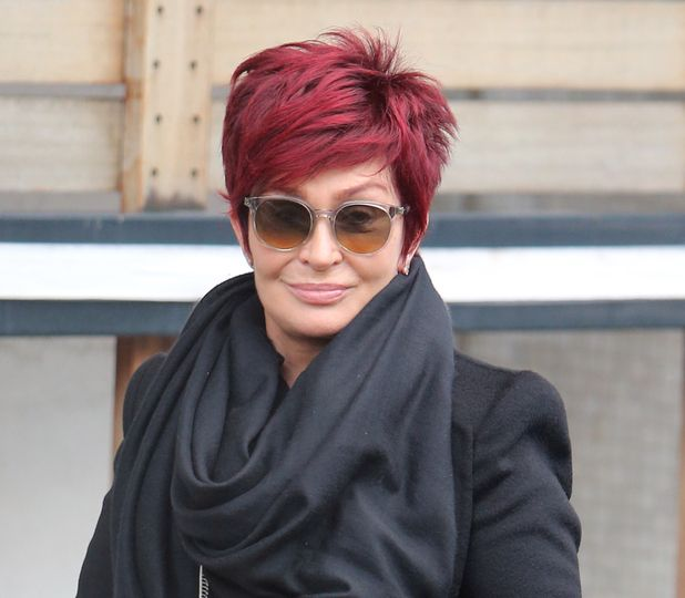 sharon osbourne can't stop laughing