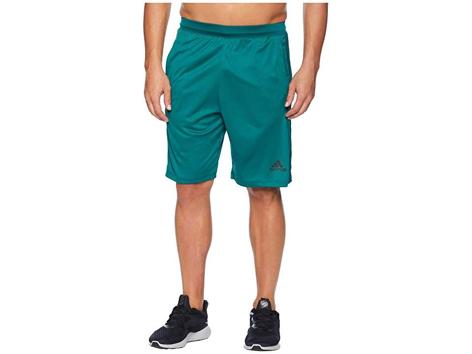 adidas Designed2Move 3Stripes Shorts Noble GreenNoble Green Mens Shorts Whether you wiggle or shimmy these adidas shorts have your back or bottom Regular fit is eased but...
