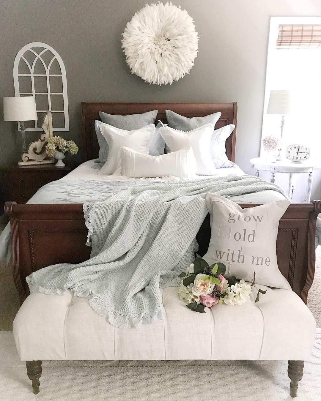 147 2k Followers 1 003 Following 1 087 Posts See Instagram Photos And Videos From Pamel Rustic Bedroom Design Brown Furniture Bedroom Master Bedrooms Decor