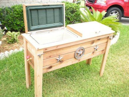 Garden Ideas I Like Cooler Standdiy Coolerpatio