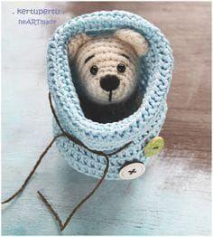 So einfach kann man eine Geschenktüte selber häkeln! Klein oder gross, immer nach dieser einfachen Anleitung. Material: ... #dollhats