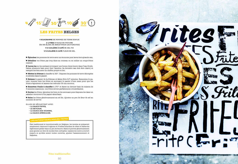 Hachette Le Livre Des Frites Livre De Cuisine Photographe