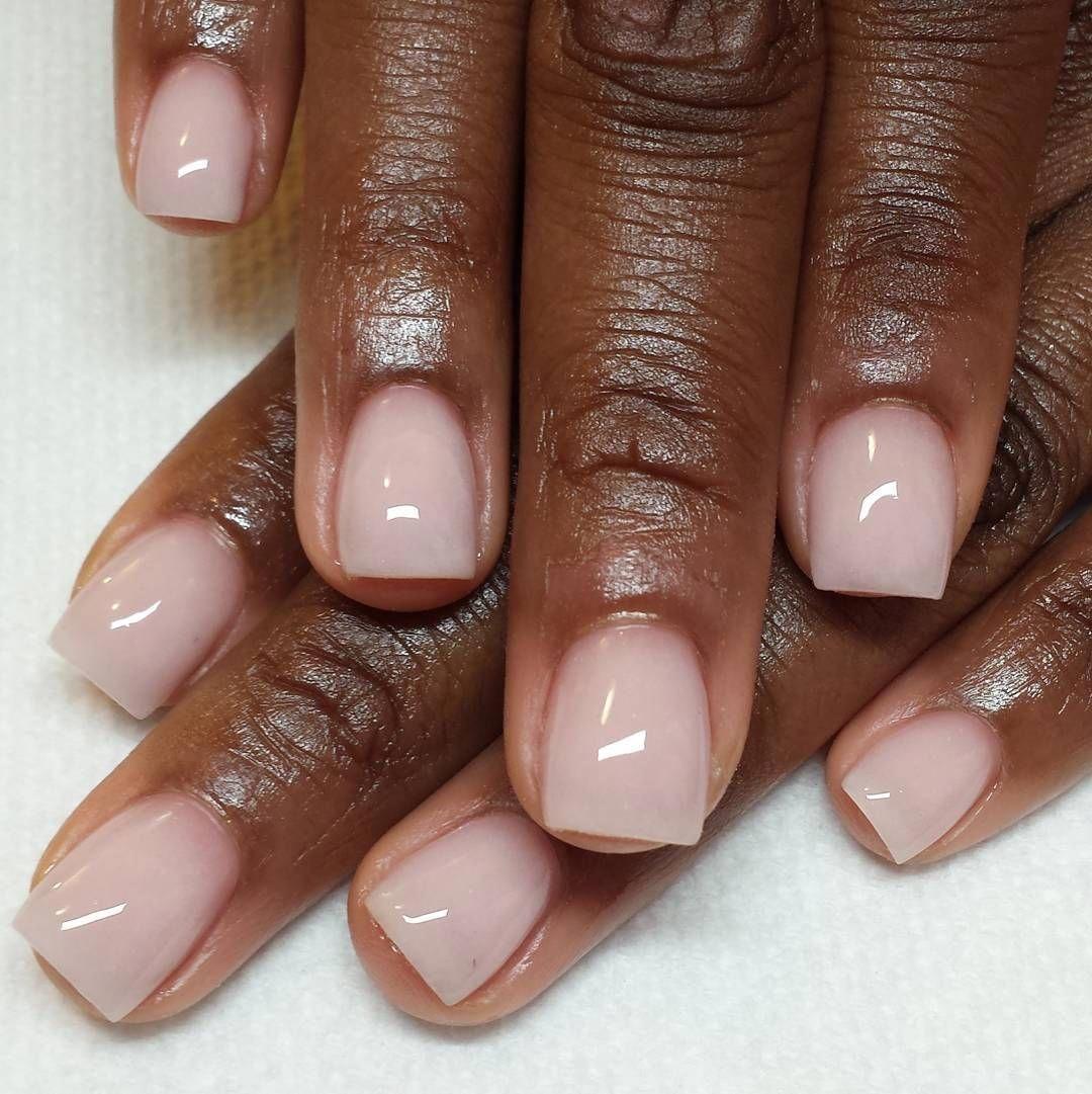 #naturalNail | Dipped nails, Powder nails, Short acrylic nails