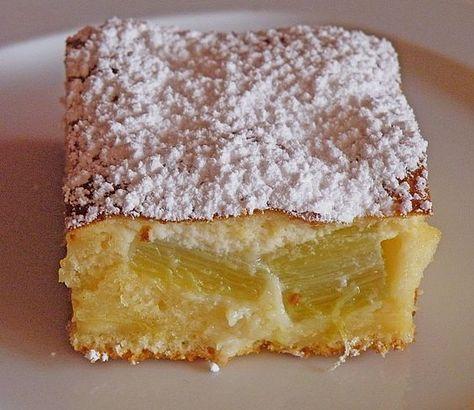 Rhabarberkuchen mit schmandhaube torte kuchen backen for Kuchen hoffmann