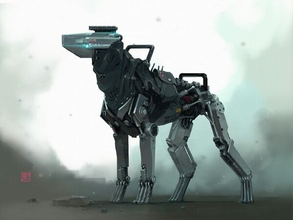 Somewhat Plausible Robot Dog If Anyone Makes A K 9 Pun I M