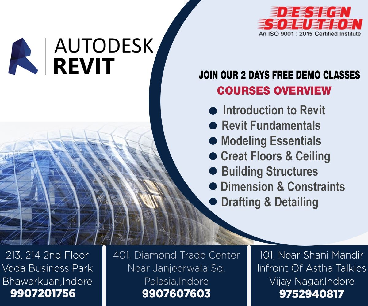 Join Design Solution For 2 Days Free Demo Classes Autocad Ingenierie