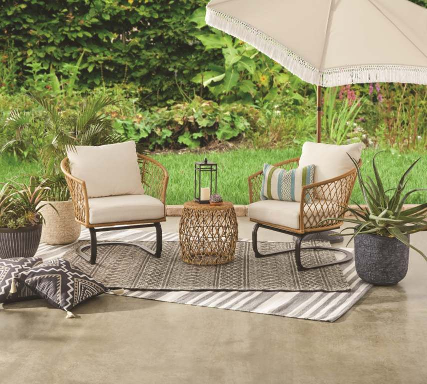 Better Homes And Gardens Wicker Furniture Cushions