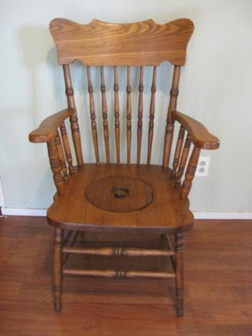 Antique Commode Potty Chair Chairs Recliners Cornwall