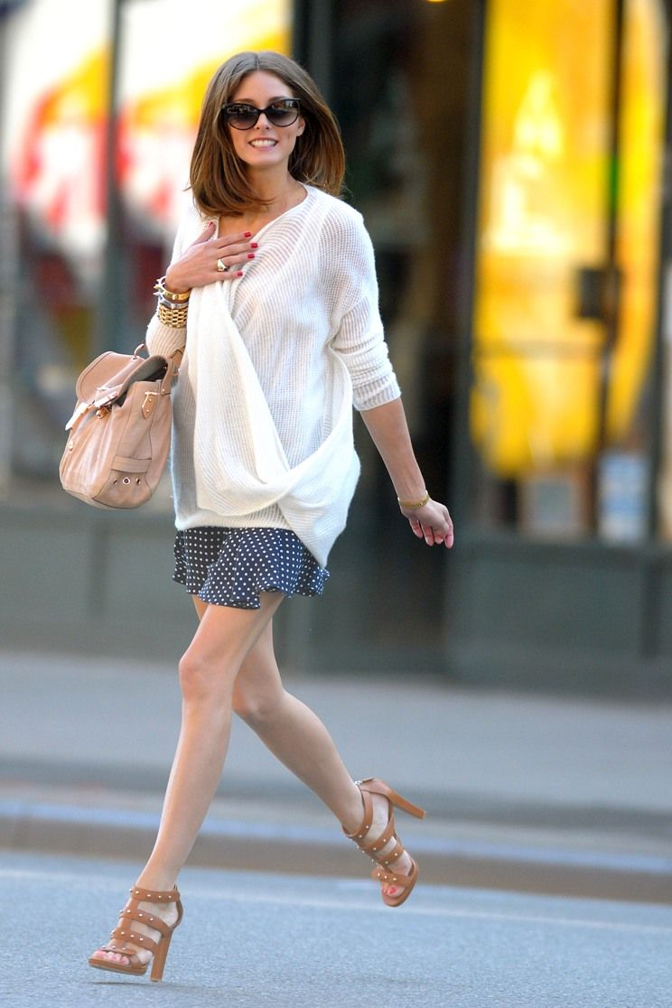 088d3361c47 Olivia Palermo in New York City Accessories  Mulberry Tillie Bag ...