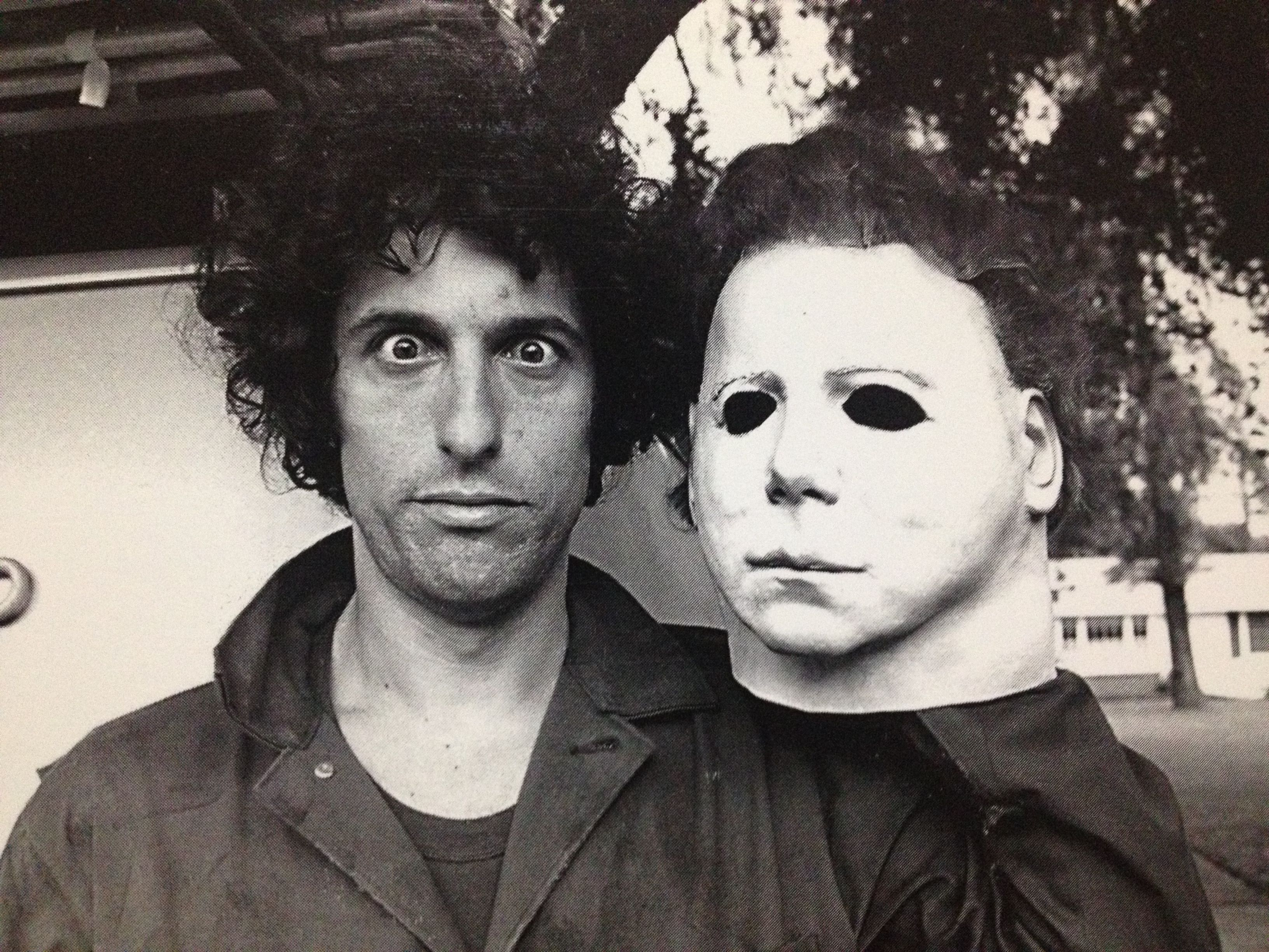 The man behind the mask...Nick Castle as Michael Myers from ...