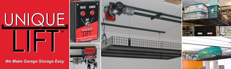 Unique Lift | Garage Ceiling Storage | We Make Garage Storage Easy!