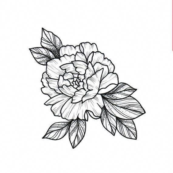 Flower Wrist Tattoo Flower Wrist Tattoos Black Tattoos Carnation Tattoo