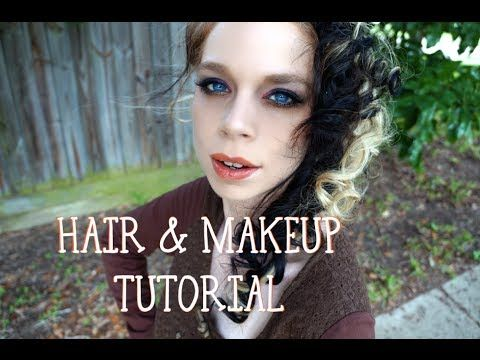 Hair Makeup Tutorial Mrs Lovett Youtube Mrs Lovett Diy Hairstyles Hair Makeup