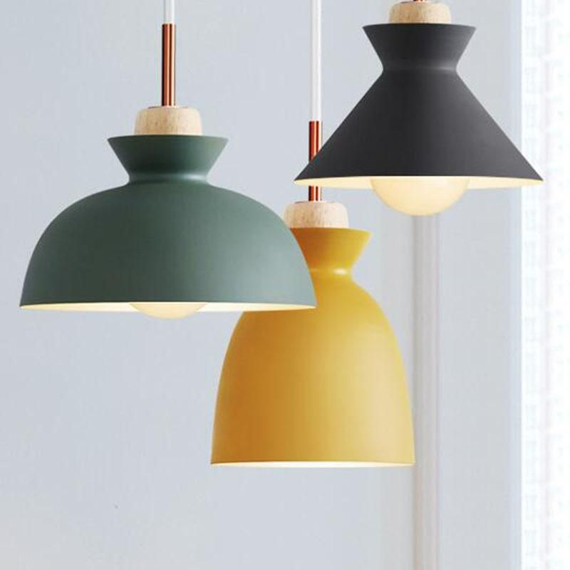 Colorful Modern Wood Minimalist Pendant Lights This Spring It Is