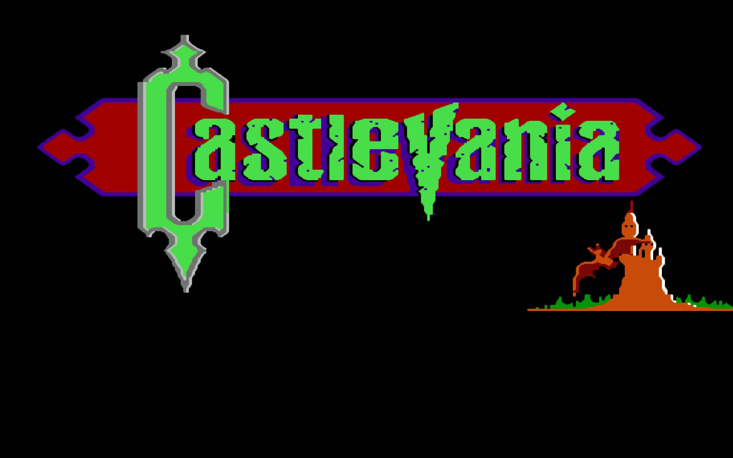 Castlevania NES Logo Castlevania nes, Logos, Neon signs