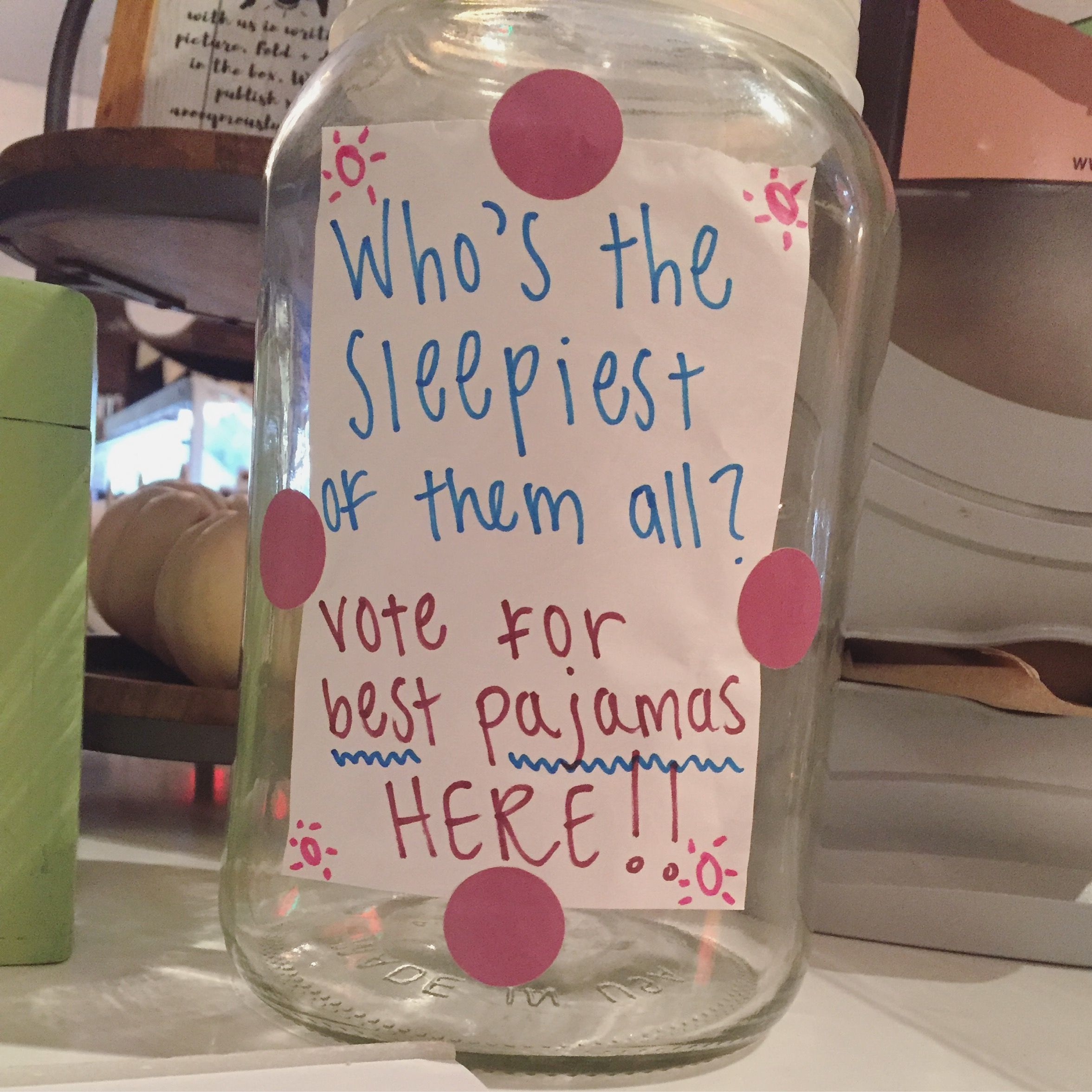 Teen Christmas Party Ideas Part - 20: Pajama Party Happening 10/20 At 8 Pm! Come On In And Vote For · Sleepover  Ideas For TeensTeen ...