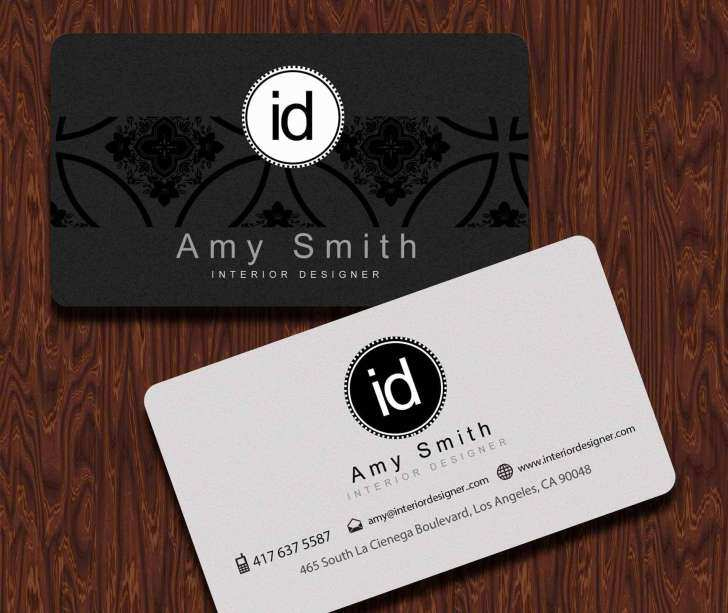 85 Free Business Card Template Kinkos Download For Business With Kinkos Bu Interior Design Business Cards Ideas Business Card Design Design Business Card Ideas