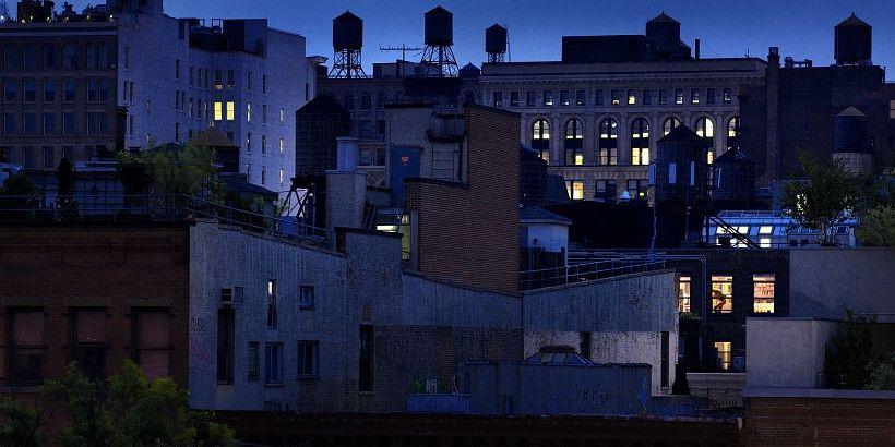 David Drebin, Gotham City, 2010, Digital C Print. http://contessagallery.com/artist/David_Drebin/works/list/