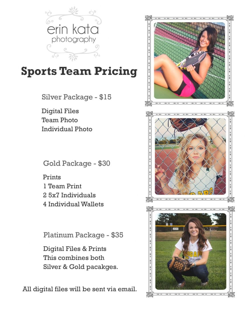 Sports Team Photography Packages Google Search Sports Team Photography Team Photography Youth Sports Photography
