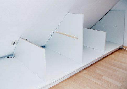 seitenw nde drempelschrank zuk nftige projekte pinterest attic. Black Bedroom Furniture Sets. Home Design Ideas