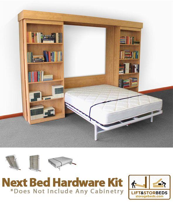 next bed hardware kit pinterest murphy bed hardware and twins. Black Bedroom Furniture Sets. Home Design Ideas