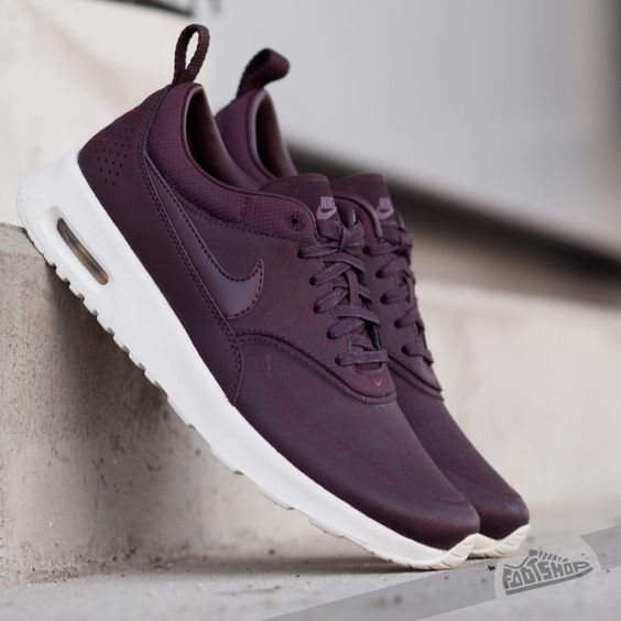 mens nike air max thea purple red