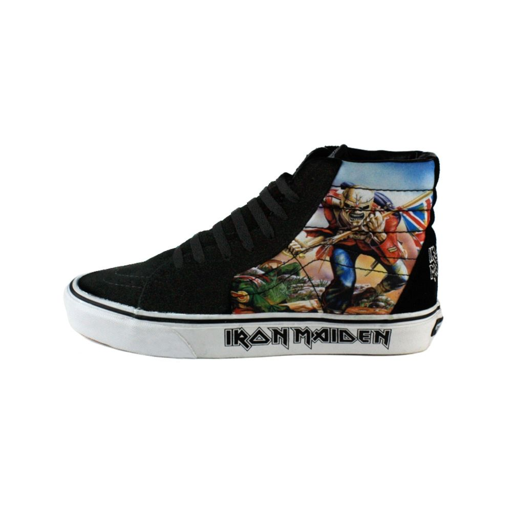 Yep, this is what I need: an Iron Maiden shoe. ;-)
