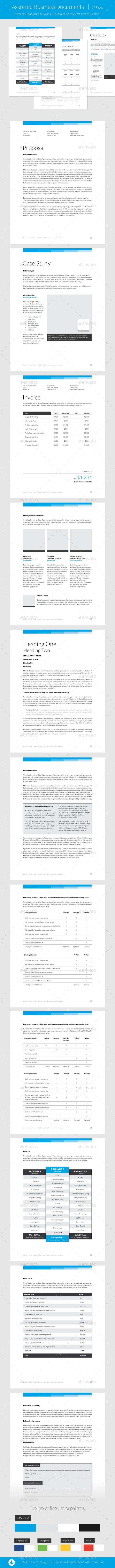 Simply Premium   Indesign Template  Indesign Templates