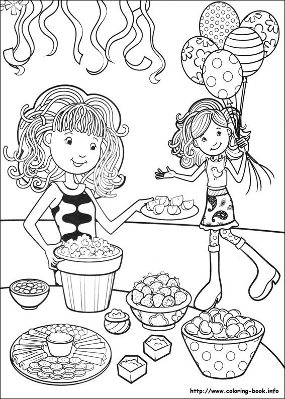 Groovy Girls coloring page   Coloring pages and Printables ...