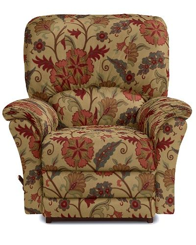 Calvin Reclina Rocker 174 Recliner By La Z Boy In Quot Cedar