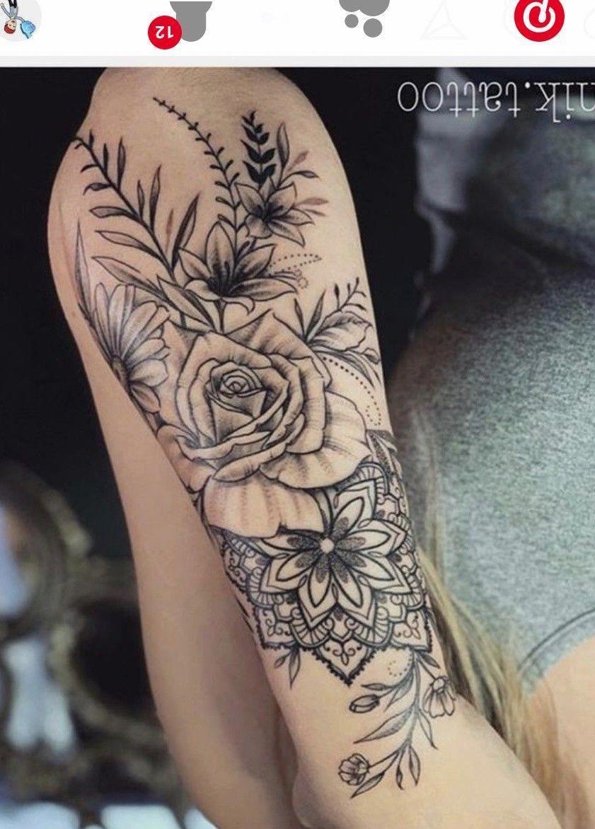 Full Sleeve Tattoos Tribal Mandalatattoo In 2020 Feminine Tattoo Sleeves Full Sleeve Tattoos Sleeve Tattoos