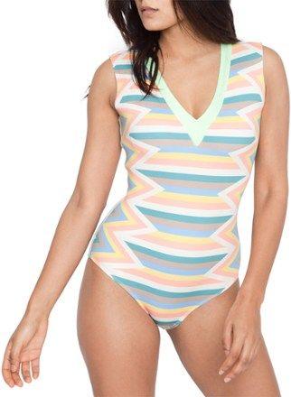0d1e68e928abe Seea Women's Rhea One-Piece Swimsuit Sunrise L   Products   One ...