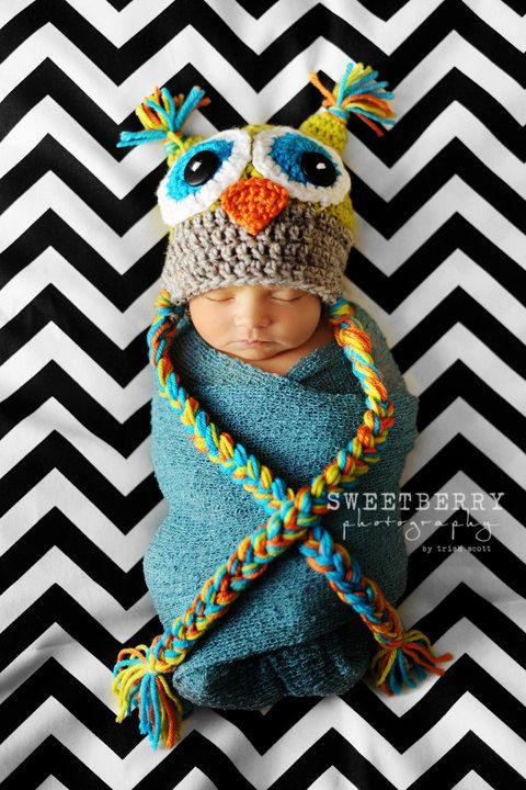 cute newborn photo | Crochet | Pinterest | Karikaturen, Strick und ...