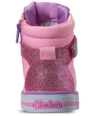 da28342adb40 Skechers Little Girls  Twinkle Toes  Twinkle Lite - Beauty N Bliss High-Top  Casual Sneakers from Finish Line - 1.5