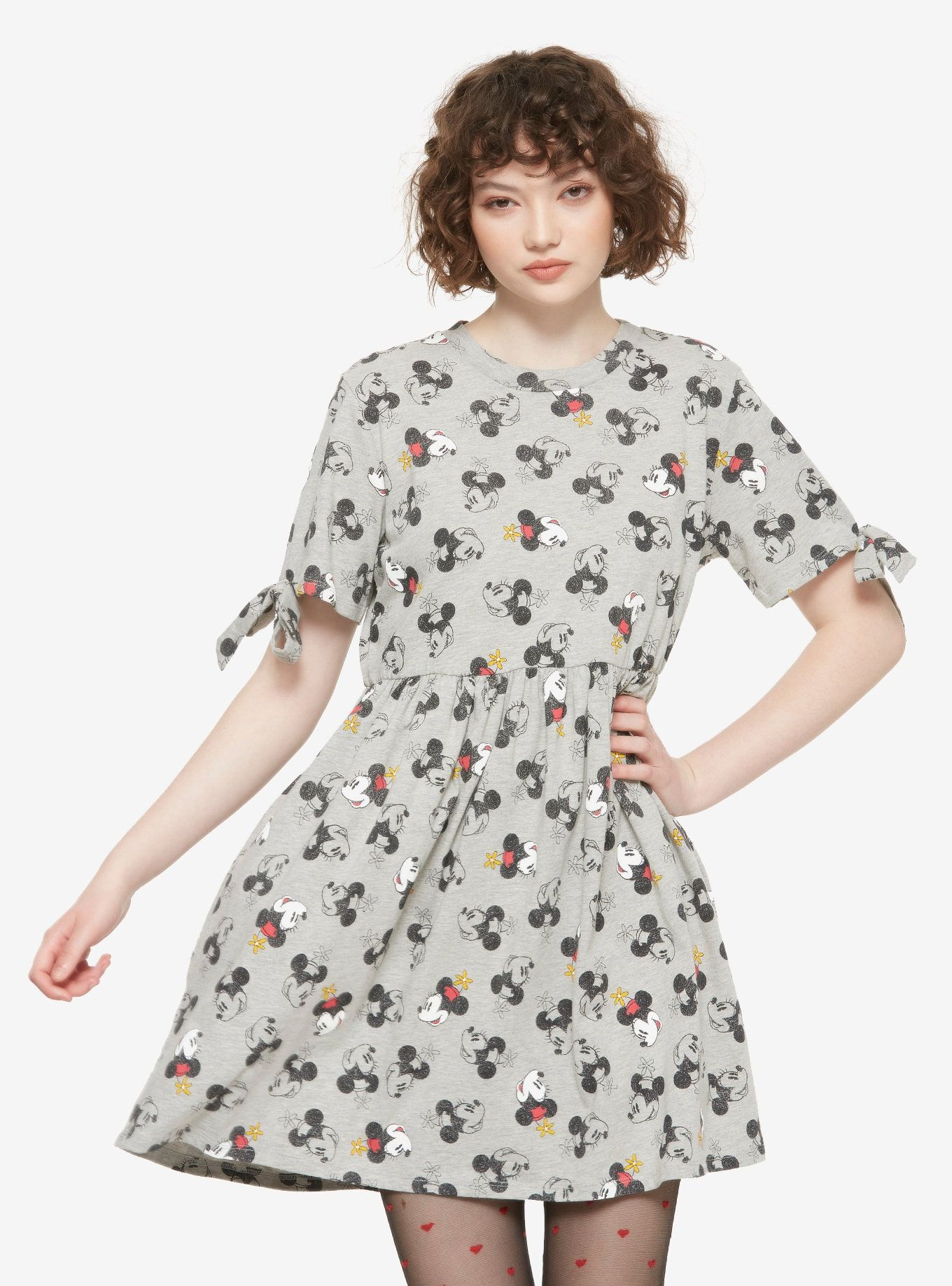 387147e6315eb ... by Hot Topic. Magical Minnie    Disney Minnie Mouse Tie Sleeve Dress
