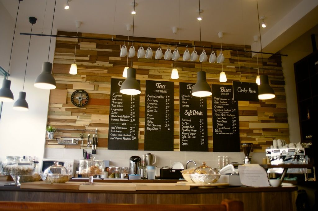 The Place - + Cafe Interior Design, Cafe Design, Window Display, Lighting, Wood, Creative Cafe