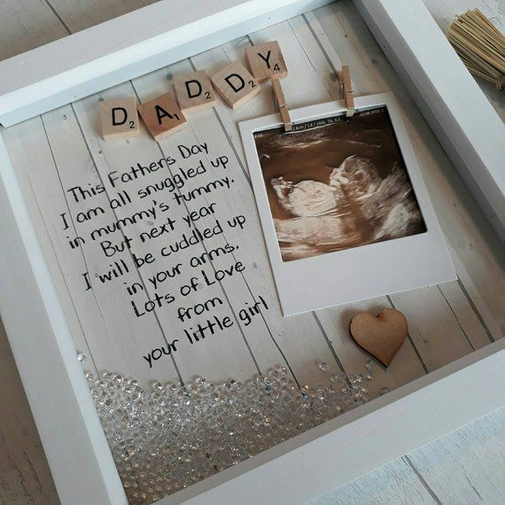 Daddy to Be Frame 1st Fathers day Gift Scan Picture Frame Gift For New Daddy Present For Daddy Gift For Dad Personalised Fathers Day  Daddy to Be Frame 1st Fathers day Gi...