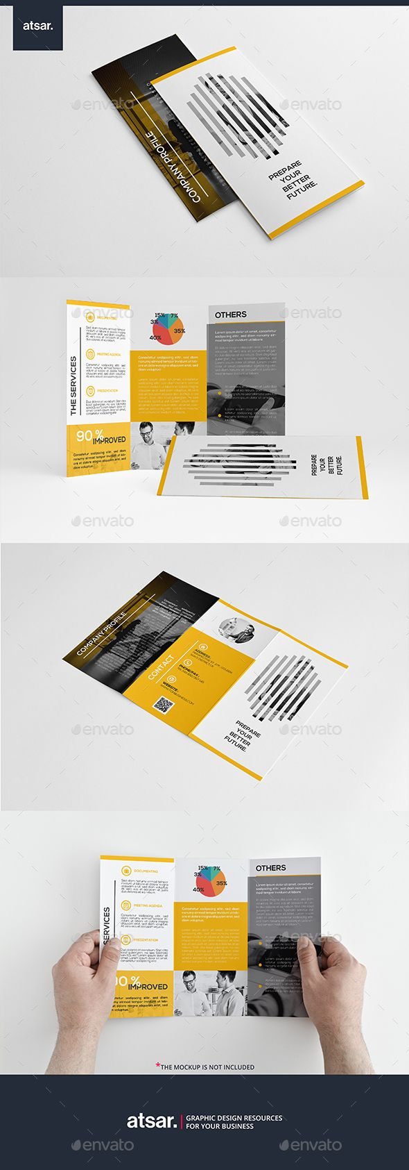 Creative Business Trifold | Editorial