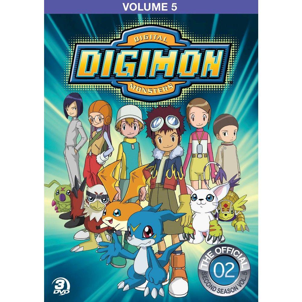 Digimon Adventure Vol 5 Dvd Digimon Seasons Digimon Adventure