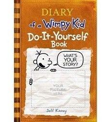 Diary of a wimpy kid journal do it yourself book author by jeff diary of a wimpy kid journal do it yourself book author by solutioingenieria Image collections