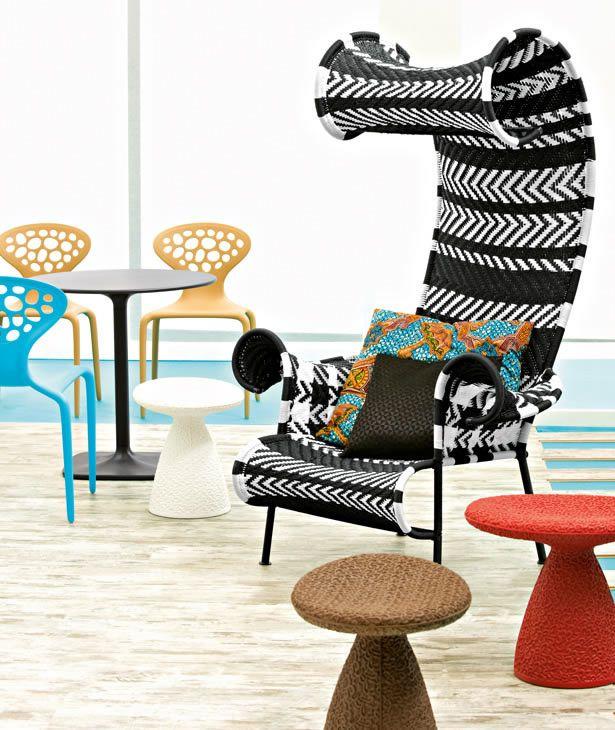 Moroso Luxury Sofa Spring Furniture Cool Chairs