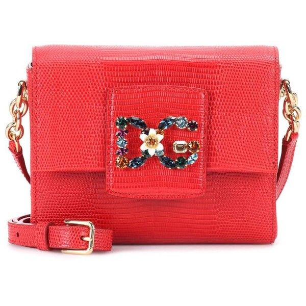 Dolce   Gabbana DG Millennials Mini Leather Shoulder Bag (7 ddf561e004ed5