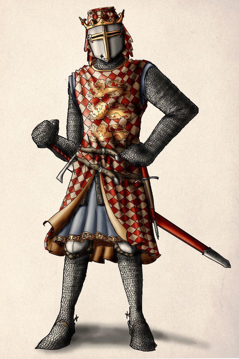 The Lionhearted by InfernalFinn on deviantART, King