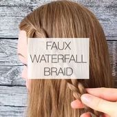 Photo of Imitat-Wasserfall Braid😘 – #Braid #ImitatWasserfall – #Braid #ImitatWasserfal…