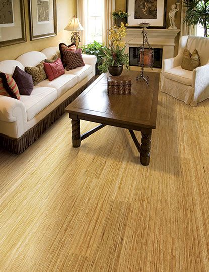 renew and restore collection strand woven natural home legend bamboo flooring in living - Home Legend Flooring