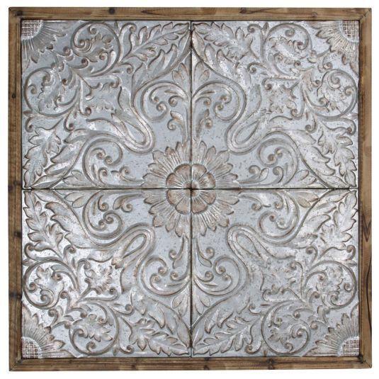 Tin Ceiling Tiles Wall Art Jerome S