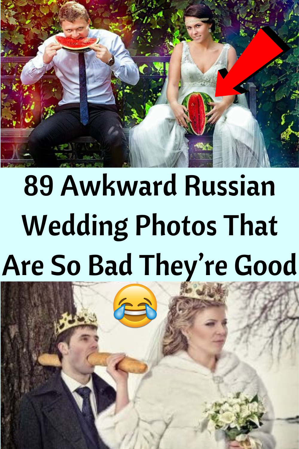 89 Awkward Russian Wedding Photos That Are So Bad They're