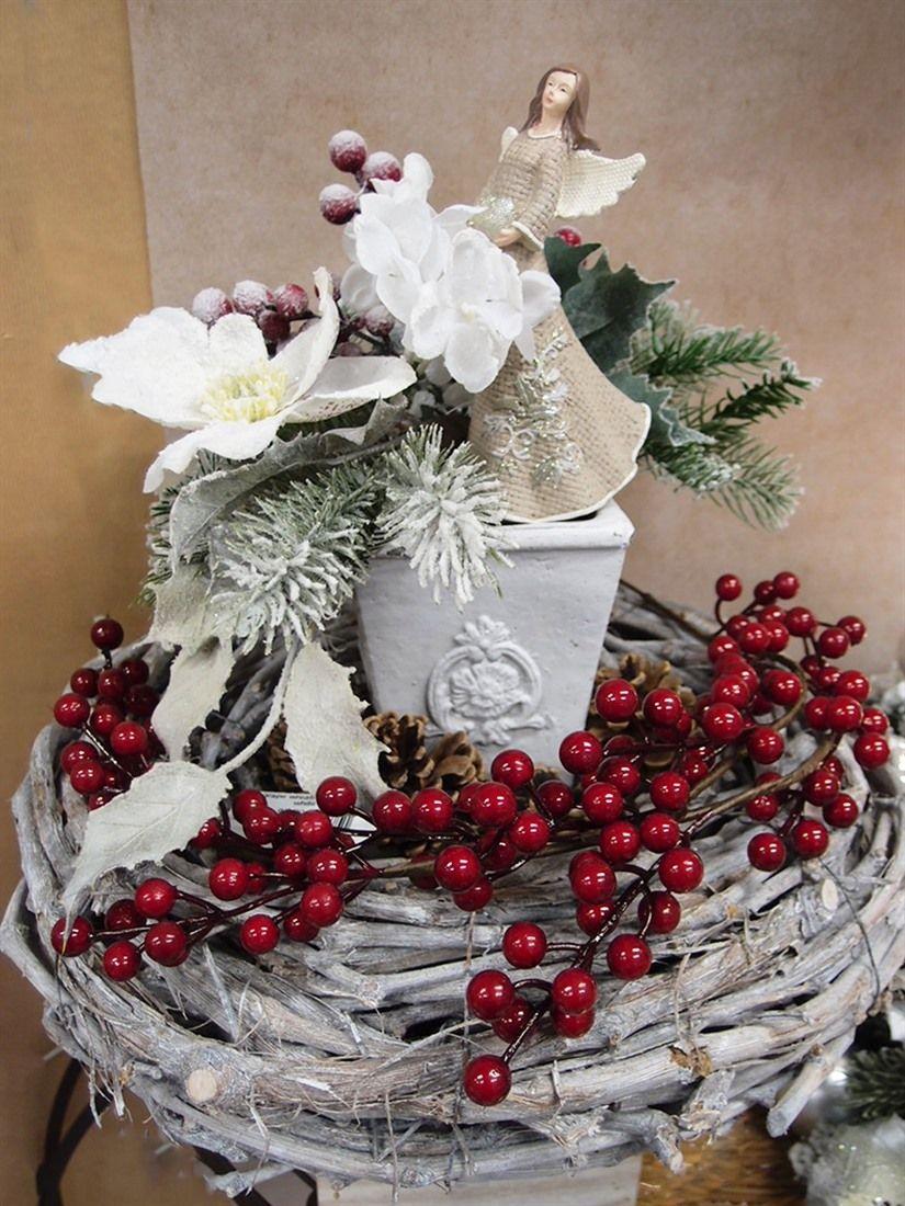 Addobbi Centrotavola Natalizi.Idee Vetrine Natale Shop Guerrini Vetrine Natalizie Ghirlande Di Natale Idee
